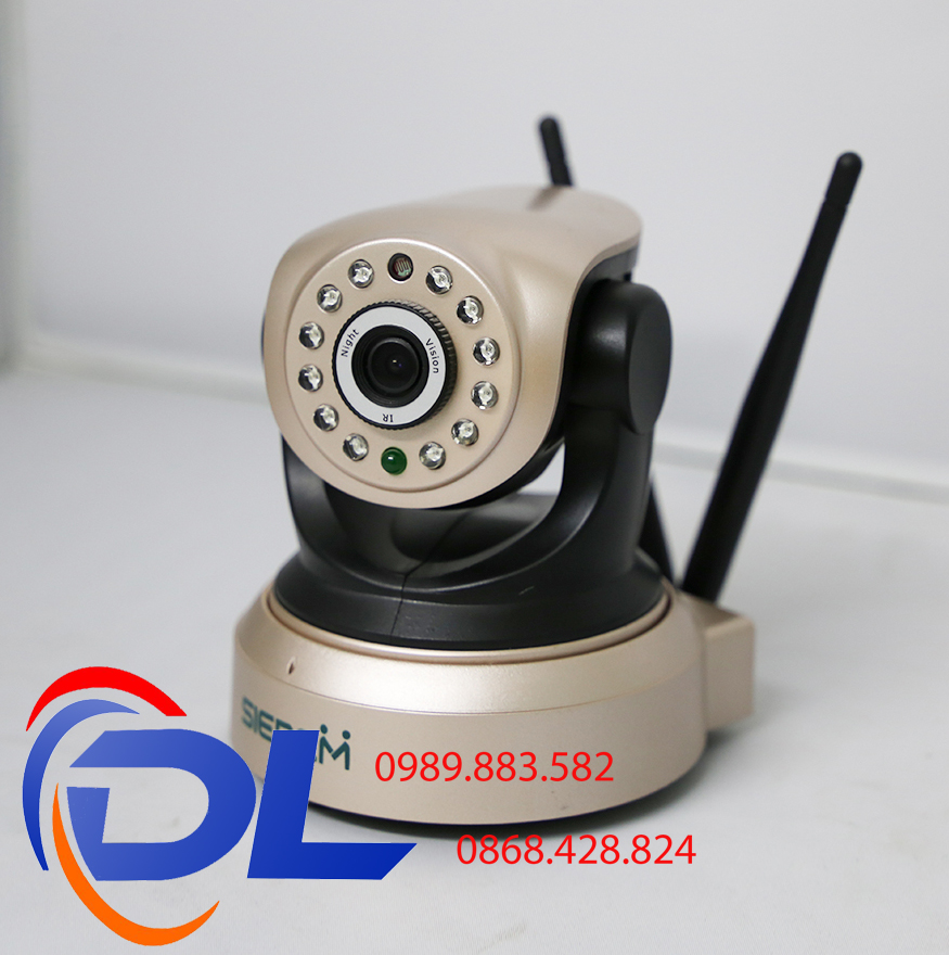 Camera IP Wifi Siepem S7001 - 2.0 Mpx